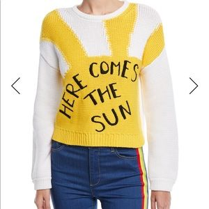 Alice + Olivia Beatles sweater size m